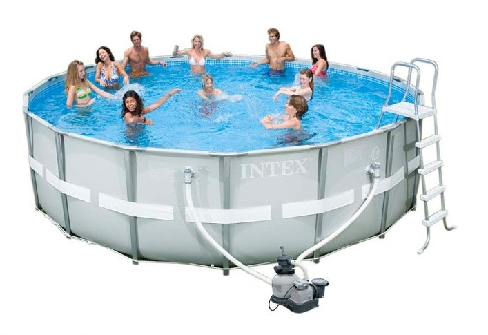 Intex Ultra Frame Pool Komplett-Set 549x132 ECO 26332