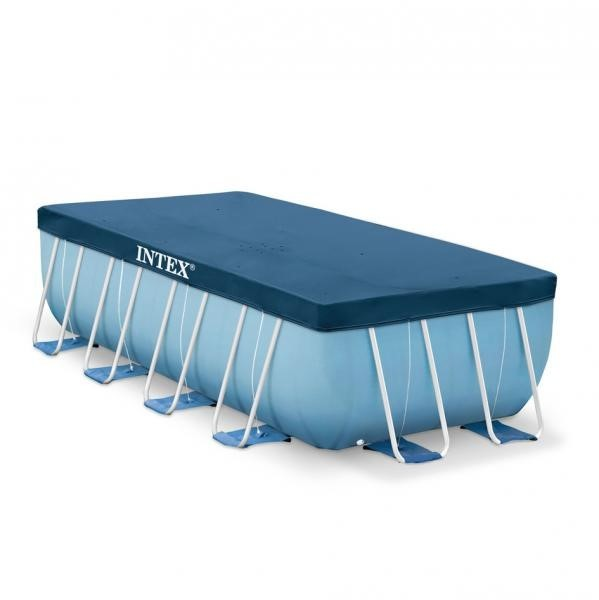 Intex Abdeckplane für Frame Pool 400x200 28037