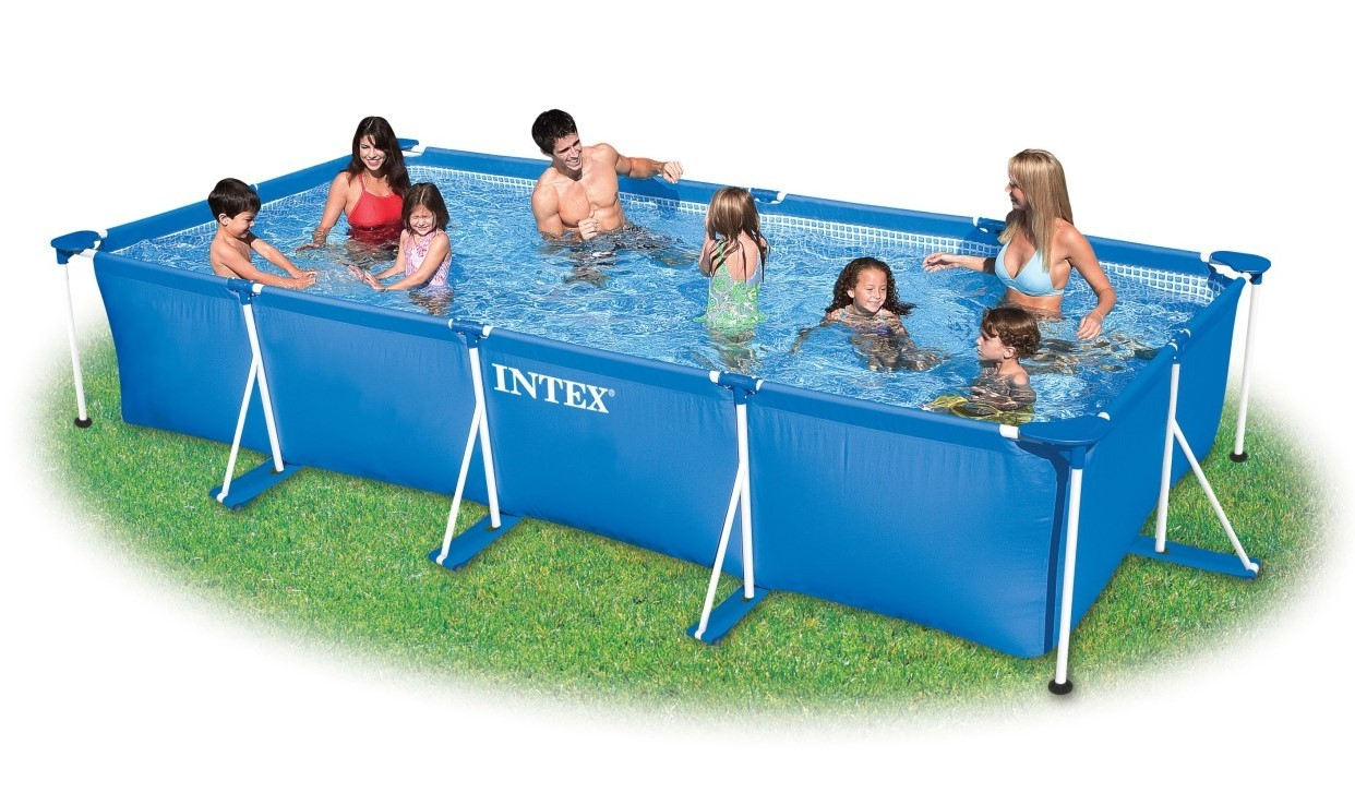 INTEX Swimming Pool Family Frame 450x220x85cm 28273