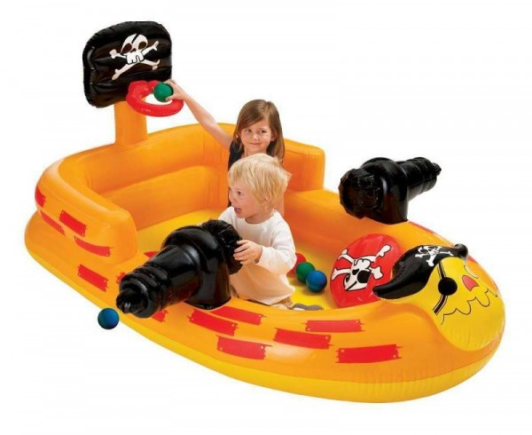 Intex Playcenter Ball Toyz Piratenschiff 48663