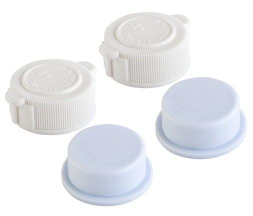 Intex Ventil Verschluss Set 2x Deckel 10043 + 2x Stöpsel 10044