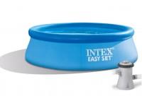 Intex Easy Set Quick Up Pool 244x61 mit Pumpe 28108GN