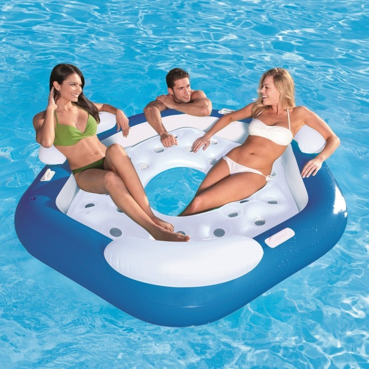 Bestway Badeinsel X3 Schwimminsel 43111