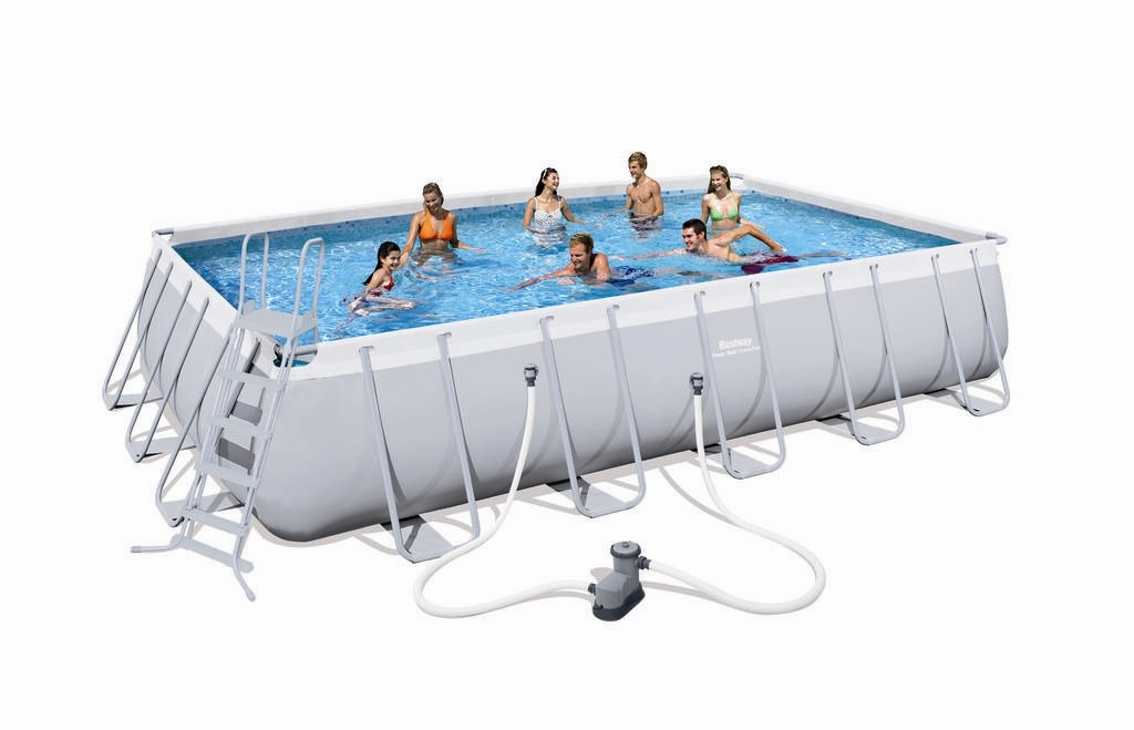 Bestway Rectangular Frame Pool Set 671 x 366 56470