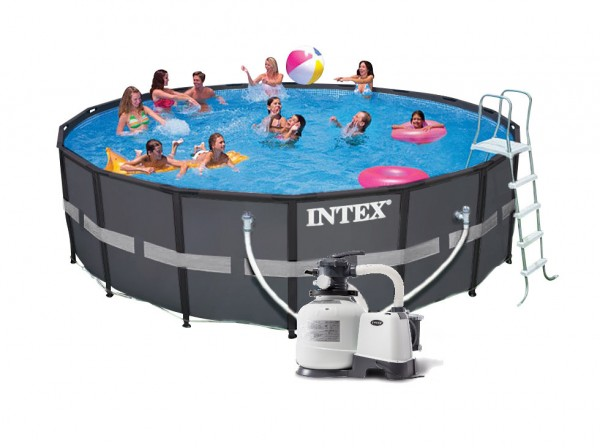 Intex Ultra XTR Frame Pool Komplett-Set 549x132 ECO 26330
