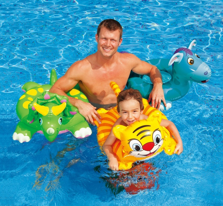 INTEX Schwimmring Wasserspielring Big Animal 58221