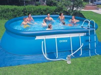 INTEX Swimming Pool Oval-Frame 305x549x107 ECO 28192 GS