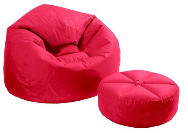 INTEX Comfy Sitzkissen SET Rot 68558