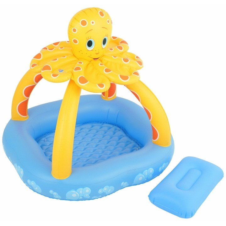 Bestway Planschbecken Kinder Pool Octopus 52145