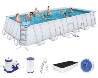 Bestway Power Steel Frame Pool Set 732 x 366 56474