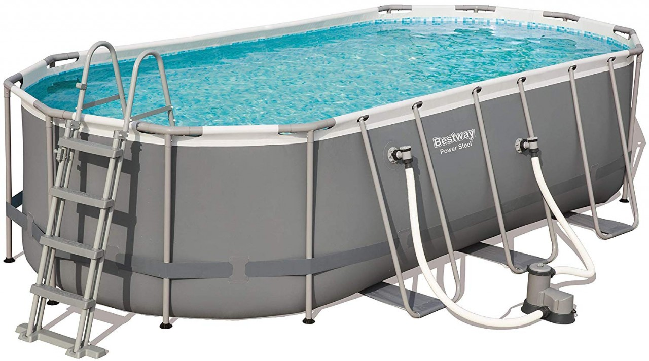 Bestway Oval Frame Pool Set 549 x 274 56710