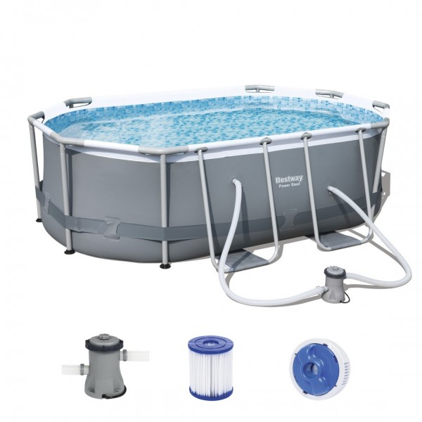 Bestway Power Steel Oval Pool Set 305 x 200 5614A