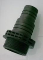 Pumpenadapter saugseitig 32/38mm Schlauchanschluss