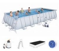 Bestway Power Steel Frame Pool Set 732 x 366 + Sandfilter 56475