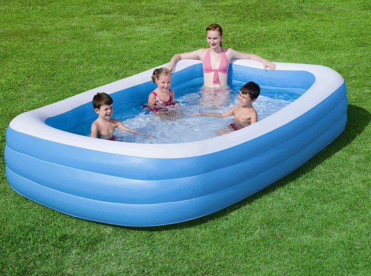 Bestway Family Pool Deluxe Blue 54009