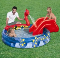 "Bestway Kinder Pool + Wasserrutsche ""Viking Play"" 53033"