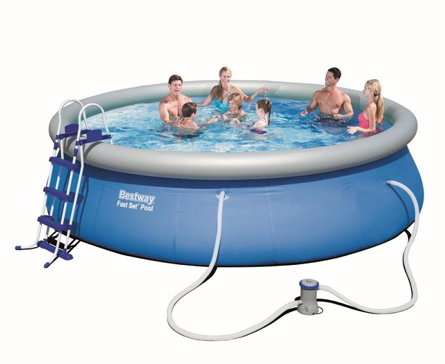 Bestway Fast Set Pool Komplett Set 457x107 57294 GS
