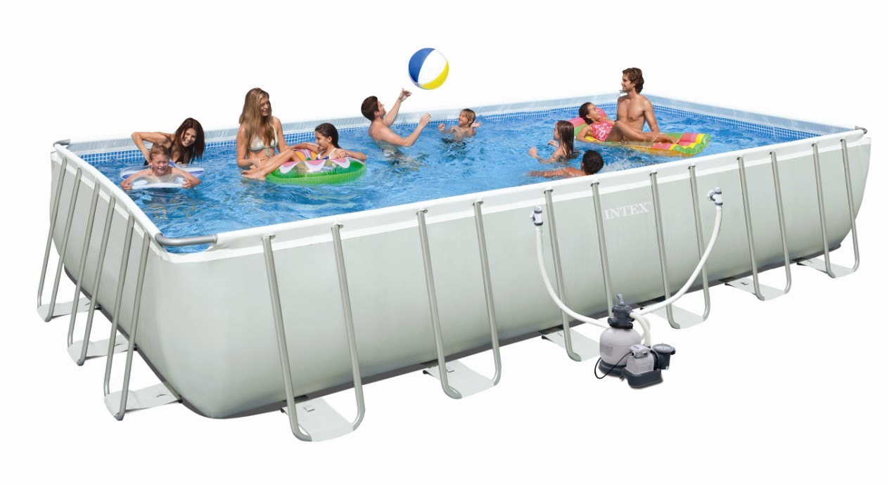 INTEX Swimming Pool Ultra-Frame 732x366x132 cm 26362 GS