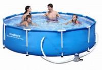 Bestway Steel Pro Frame Pool 305x76cm+Pumpe 56408