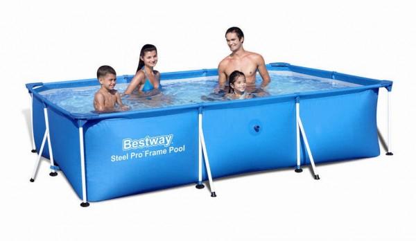 Bestway Deluxe Splash Frame Pool 300x201x66cm 56404