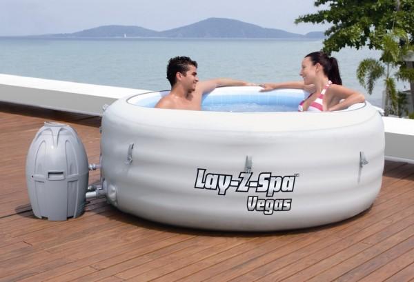 Bestway Whirlpool Lay Z Spa Vegas 54112 Grau Hersteller Bestway