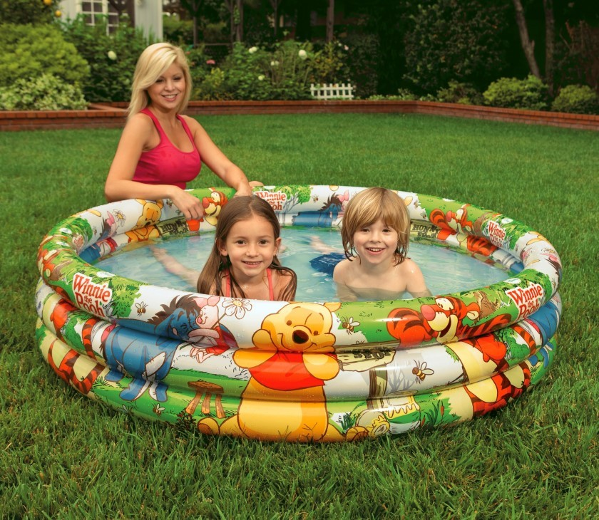 Disney 3 Ring Pool Winnie The Pooh Intex 58915