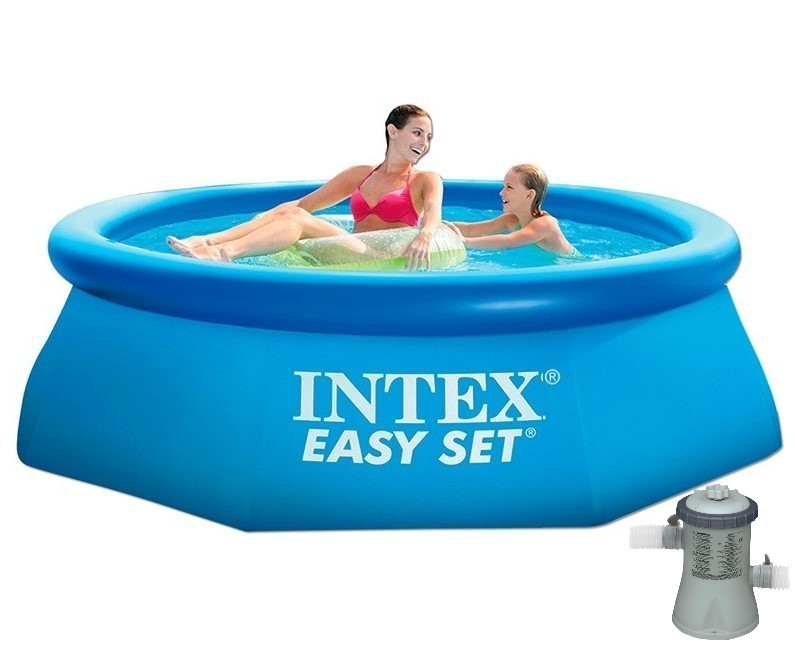 Intex Easy Set Quick Up Pool 244x76 mit Pumpe 28112GN