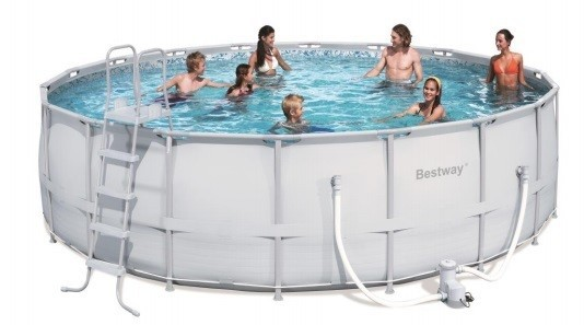 Bestway Steel Pro Pool Set 549x132 56232