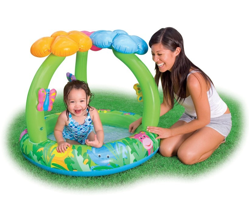 INTEX Baby Pool Jungle Flower mit Schmetterlingen 57419