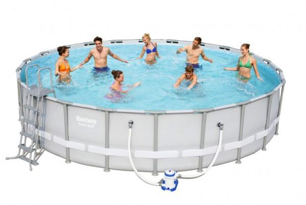 Bestway Steel Pro Pool Set 671x132 mit Filterpumpe 56705