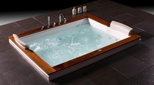 luxus Whirlwanne Whirlpool Badewanne von Wellgems U262A