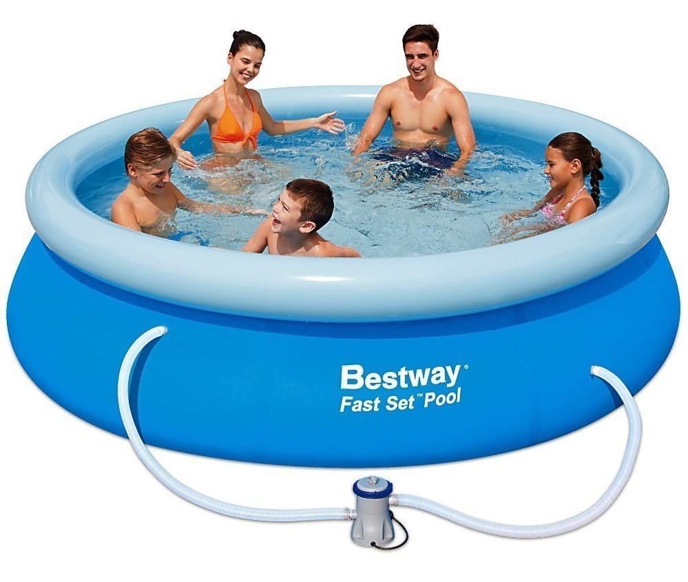 Bestway Fast Set Pool 305x76cm + Pumpe 57270 GS