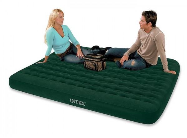 Intex Camping Matratze Comfort Top Batterie Queen 68976