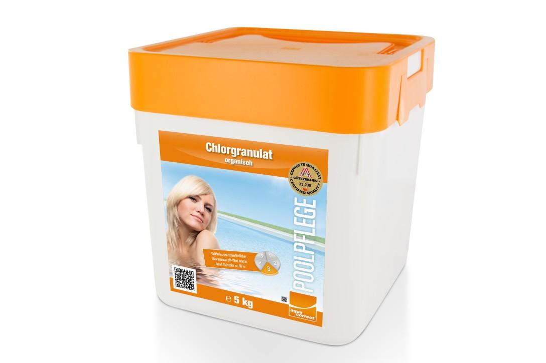 Chlorgranulat Organisch - 56% 5kg