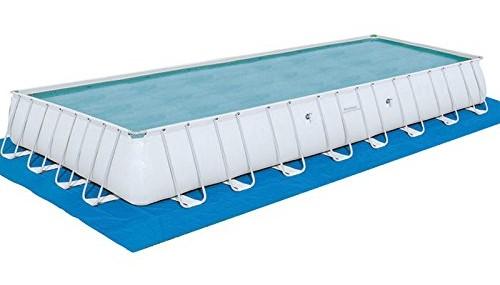 Bestway Rectangular Frame Pool Set 956 x 488 x 132 + Sandfilter 56623