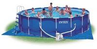 Intex Metal Frame Pool Komplett Set 549 x 122 28252