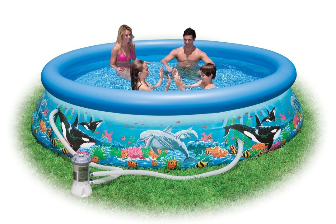 INTEX Swimming Pool Ocean Reef 366x76cm 54906