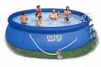 INTEX Swimming Pool EASY SET 457x91 Komplettset 56414