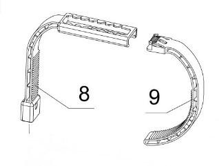 Arm + Halter Haltebügel für Intex Oberflächenskimmer an Easy Set Pools