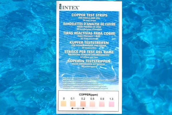 Kupfer Teststreifen Intex 111254