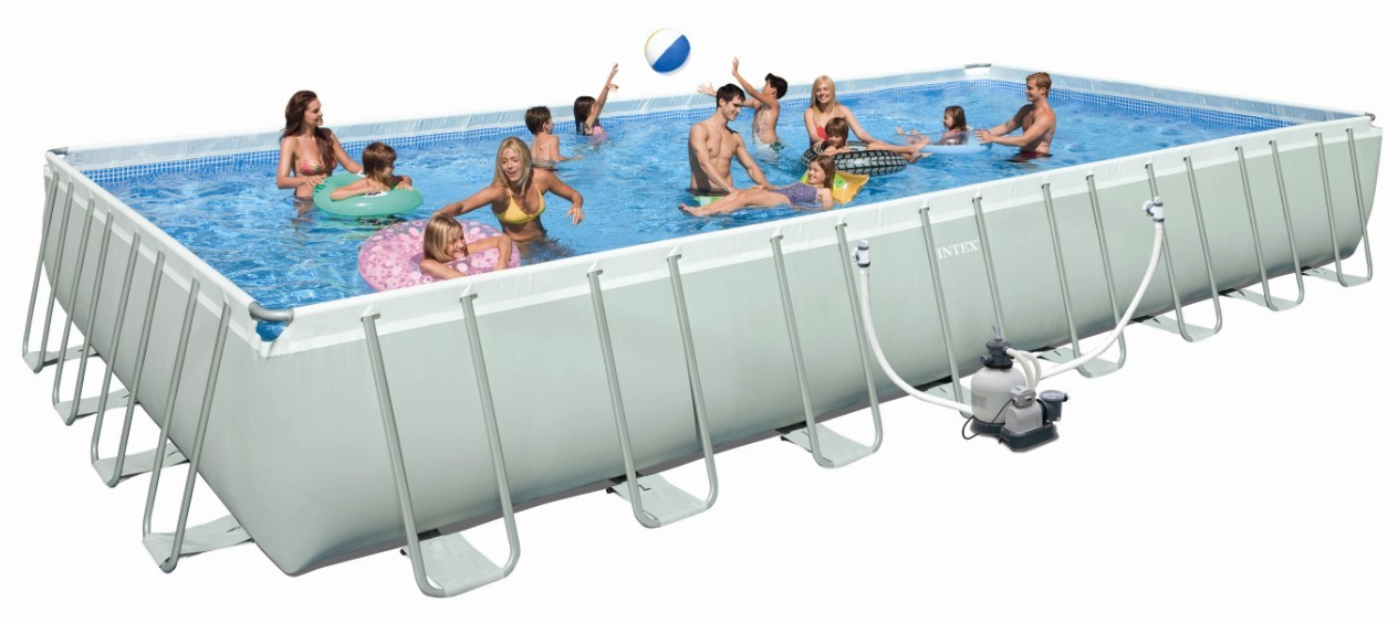INTEX Swimming Pool Ultra-Frame 975x488x132 cm 28372