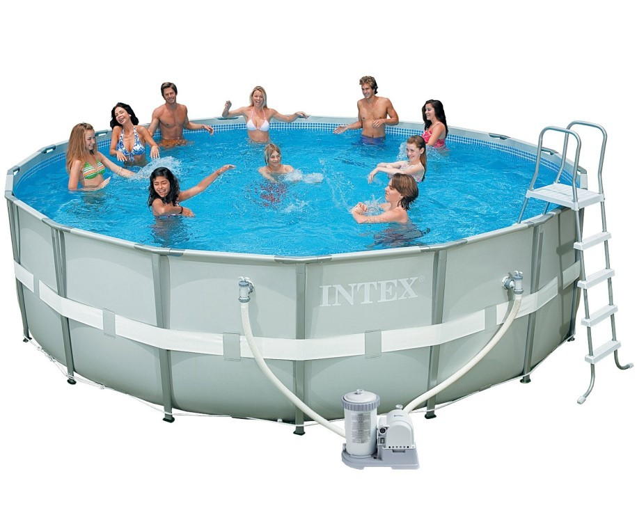 Intex Ultra-Metal-Frame Pool-Set 488x122 28322 GS