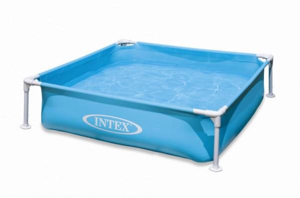 INTEX Mini Frame Pool 122x122x30cm Blau 57173