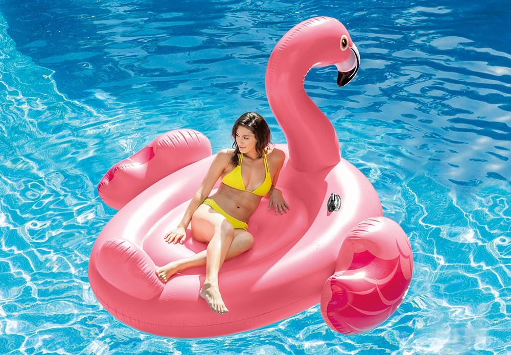 Intex Badeinsel Mega Flamingo Island 56288