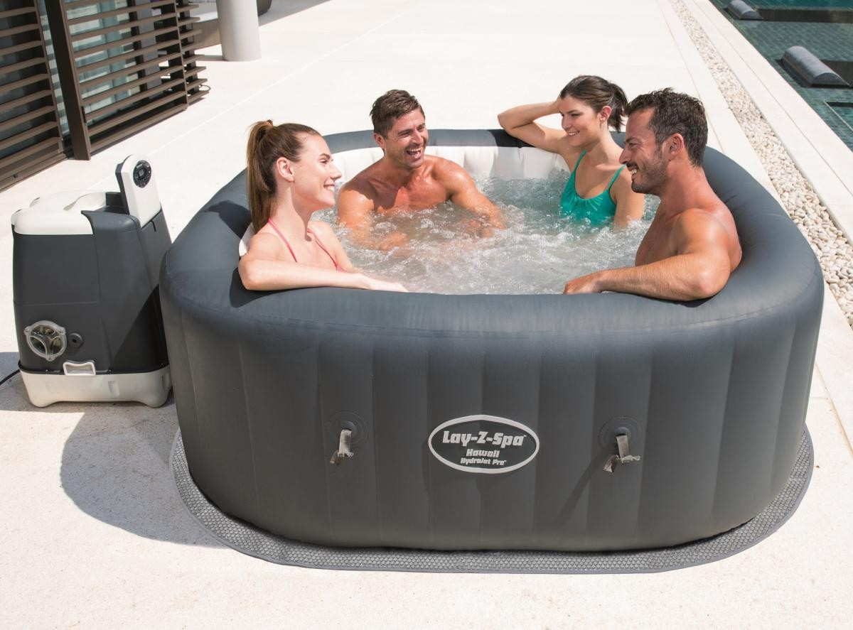 Bestway HydroJet WhirlPool Lay Z-Spa Hawaii 180x180x71cm 54138