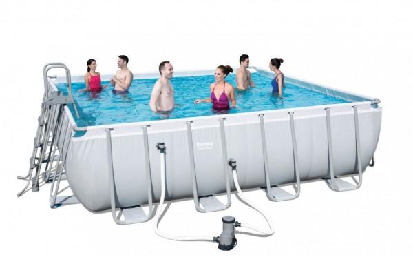 Bestway Power Steel Square Pool Set 488 x 488 56626