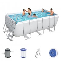 Bestway Power Steel Pool Set 412 x 201 56456