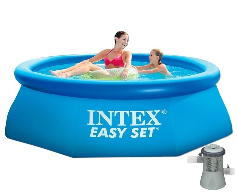 intex easy set quick up pool 244x76 mit pumpe 28112gn easy set pools hersteller intex. Black Bedroom Furniture Sets. Home Design Ideas