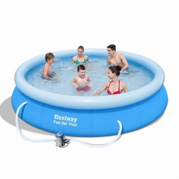 Bestway Fast Set Pool 366x76cm + Pumpe 57274 / 57112