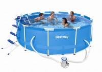 Bestway Steel Pro Frame Pool 366x100 Set 56260 GS